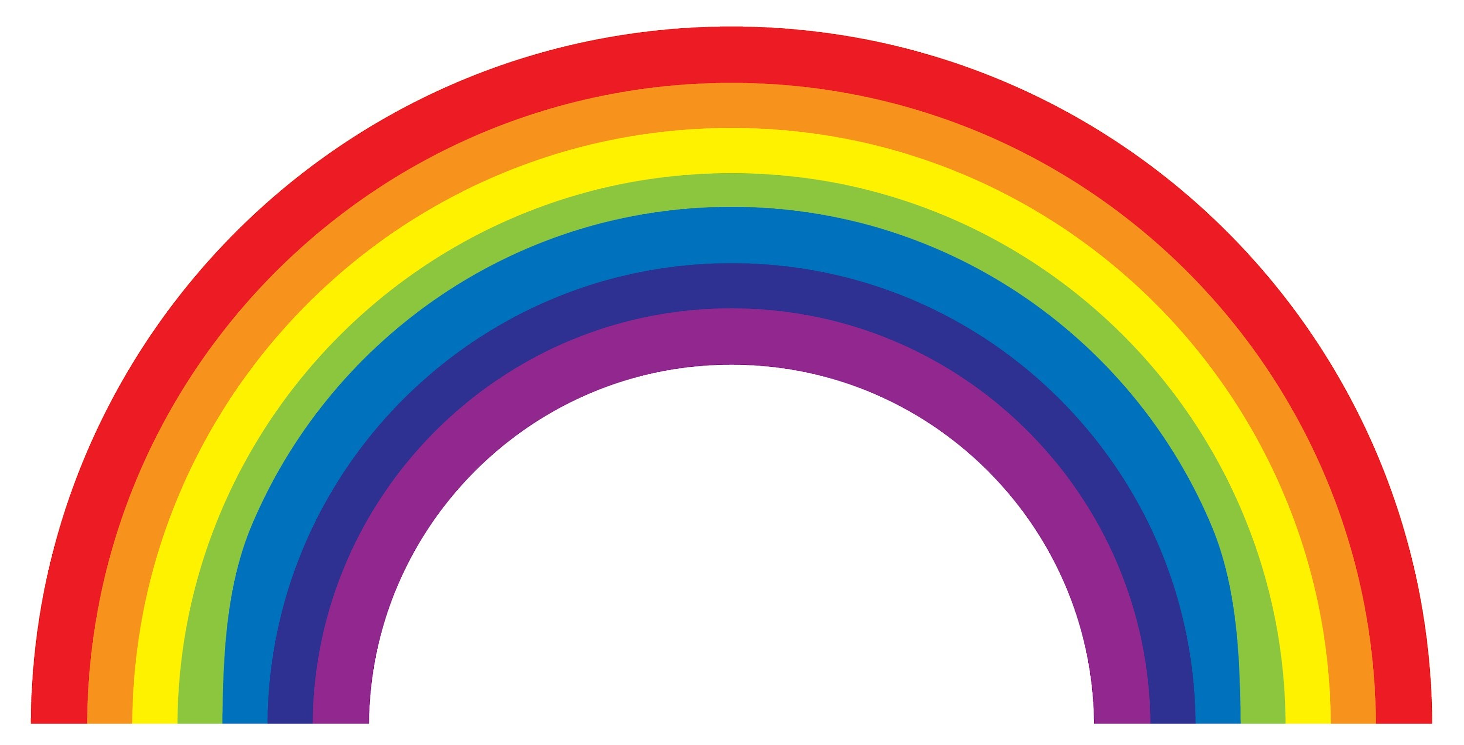 This is a photo of Shocking Free Printable Rainbow